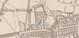 III. katonai felmérés térképe 1884