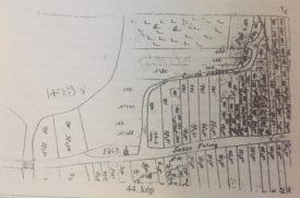 Amedeo Boros gyüjtése - Kataszteri térkép 1790-1844 közé datálva