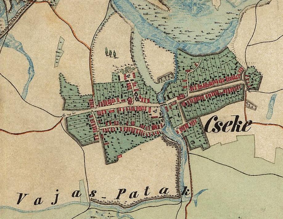 Szatmárcseke 1858
